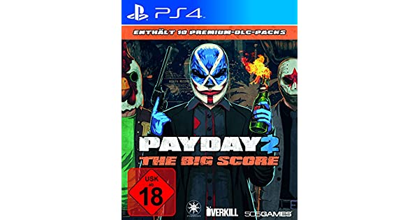 PayDay 2 - The Big Score [Importación Alemana]: Amazon.es: Videojuegos