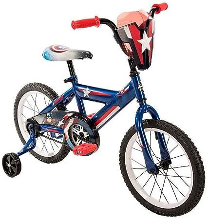 Amazon.com: Marvel Capitán América Titan Hero Bicicleta 16 ...