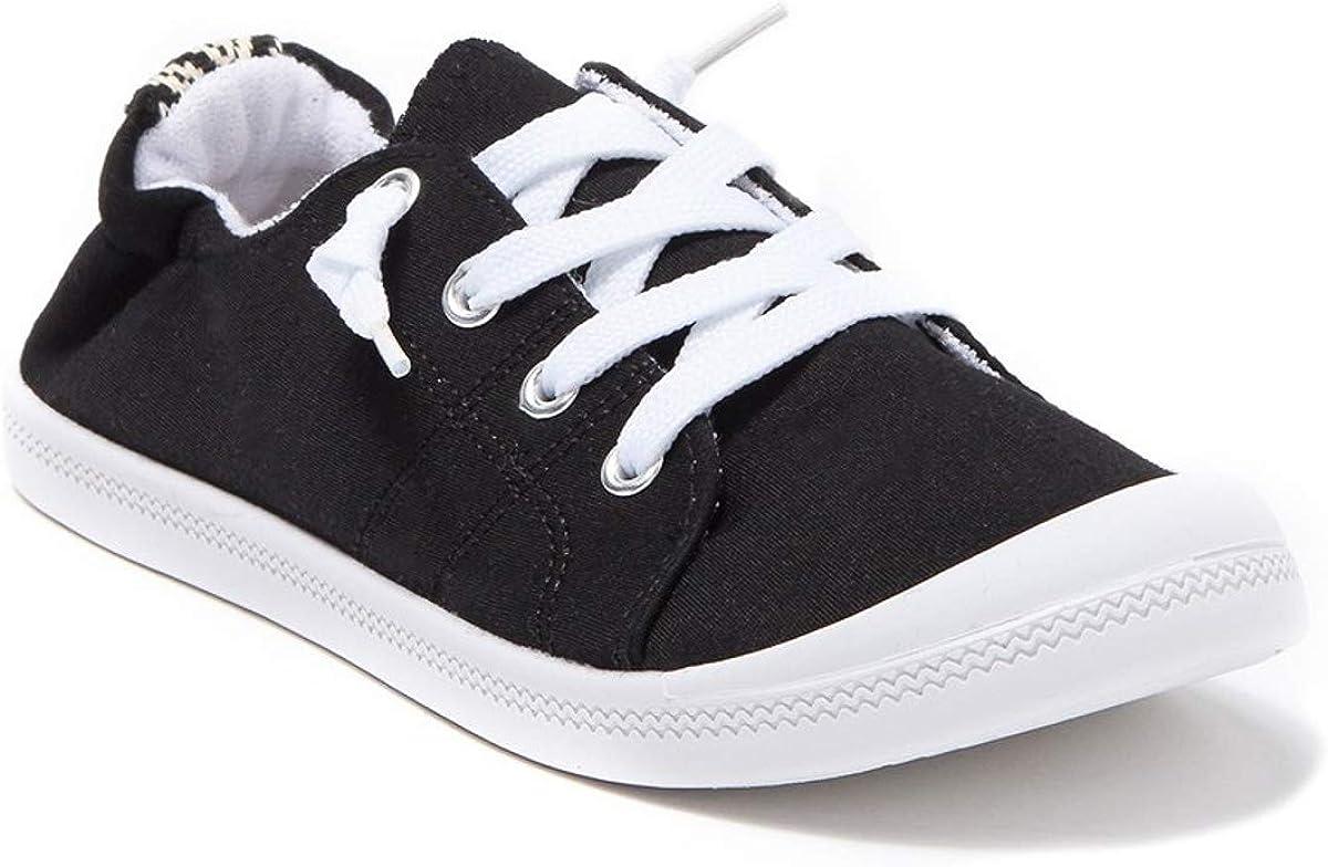 Scrunch Back Sneakers Womens Slip On