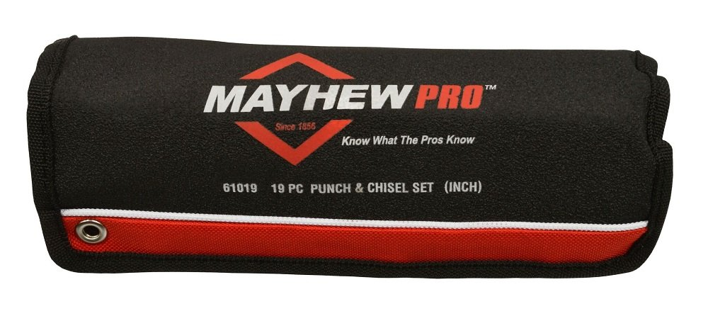 Mayhew 61019 Punch and Chisel Kit - 19 Piece