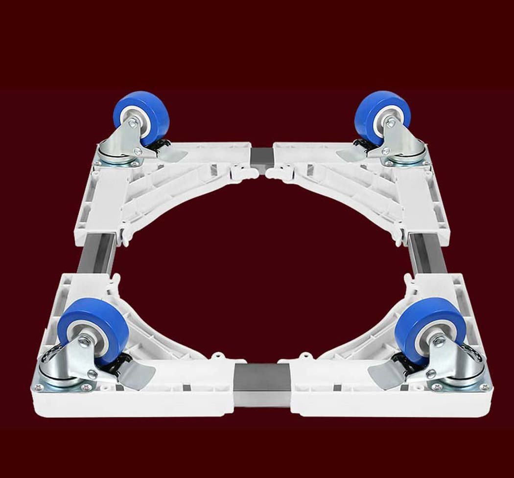 DSHBB Washing Machine Base, Universal Multi-functional Adjustable Base With Casters,Multi-function Trolley For Washing Machine/Refrigerator/Dryer/Cabinet