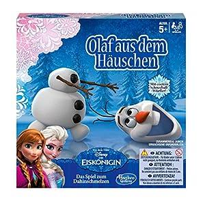 Hasbro Spiele B1646100 - Disney Die Eiskönigin, Olaf aus dem Häuschen,...