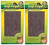 (2 Pack) Zoo Med 26083 Repti Cage Carpet 18'' x 48'' (60 Gallon)