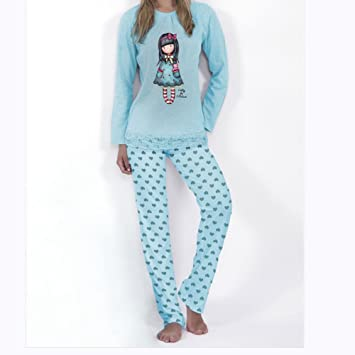 SANTORO LONDON PIJAMA SANTORO GORJUSS MUJER mujer Color AZUL talla: large