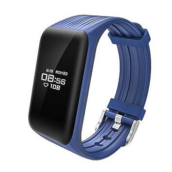 LLLS SmartWatch, Relojes Inteligentes para los Hombres para Las Mujeres, Smart Pulsera Bluetooth Smart Watch Impermeable SmartWatch Ligero Ritmo cardíaco ...