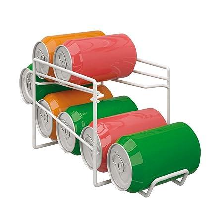 Metaltex Dispensador para Botes, Blanco, Metal: Amazon.es: Hogar