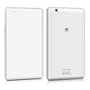 online store 7ac74 ff127 kwmobile Huawei MediaPad M3 8.4 Case - Crystal TPU Cover for Huawei  MediaPad M3 8.4 - Transparent