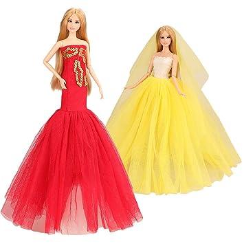 Amazon.es: Miunana 2X Trajes de Vestidos para 11.5 Pulgadas ...