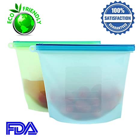 Bolsas de silicona para almacenamiento de alimentos, bolsa ...