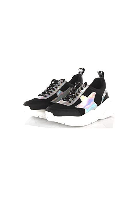 Donna Shop Neromulticolor19273 Estate 39 Primavera Art Sneakers 8wknO0P