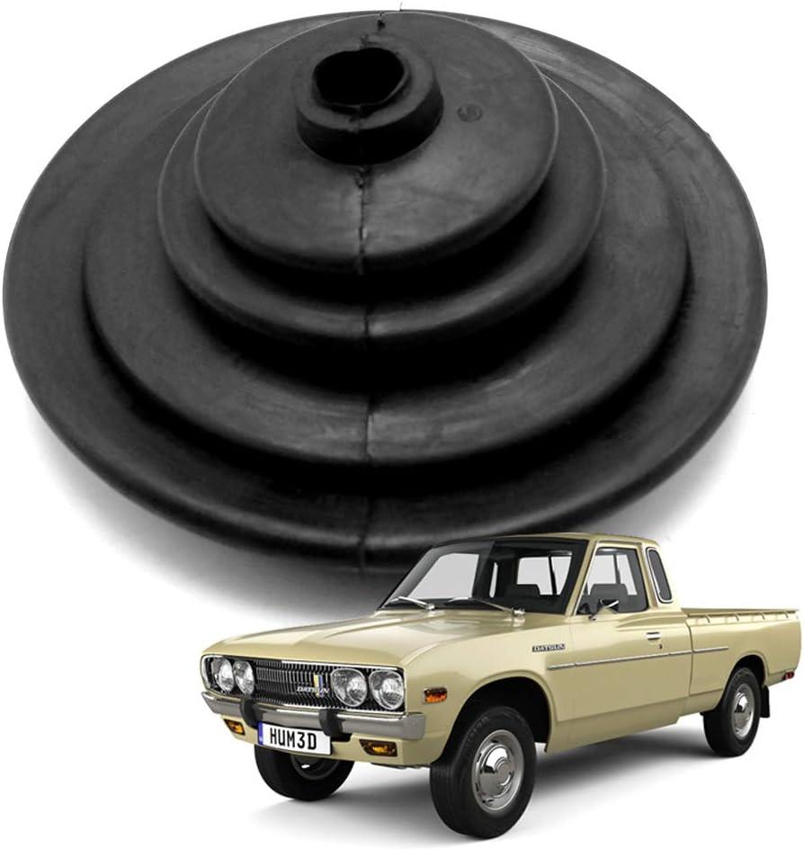 Nonstops Rubber Gear Shift Lever Boot Cover Black for Datsun 620 ...