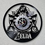 Cheap Vinyl Record Wall Clock Legend of Zelda Link Game decor unique gift ideas for friends him her boys girls World Art Design