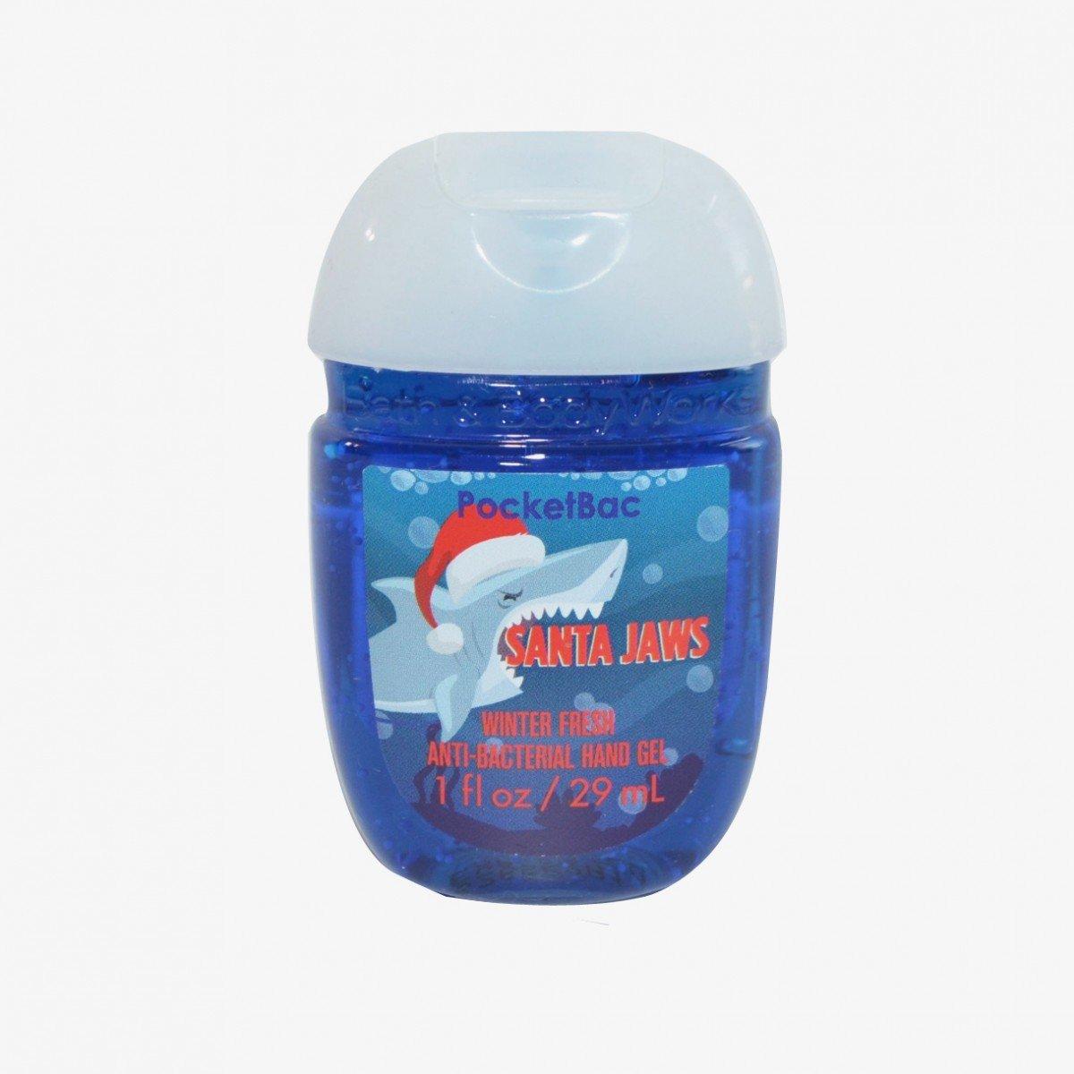 Amazon.com : Bath & Body Works PocketBac Hand Gel Sanitizer Santa ...