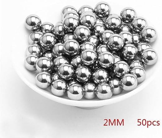 TAKEMORE7 Bola de acero inoxidable, varios tipos de bolas sueltas ...