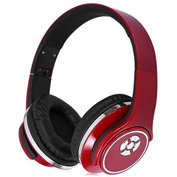 hopestar auricular Bluetooth inalámbrico Wireless plegable Mode Audio estéreo para videojuegos Gaming, Apple iPhone 5 6 7 7Plus 8 x, Samsung Huawei, PC, ...