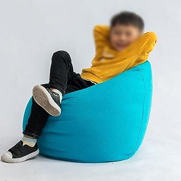 Sitzsäcke Kinder Sofa Liege Schlafzimmer Tuch Abnehmbare Und Waschbar  Wohnzimmer Liegestuhl 50 * 70 Cm (