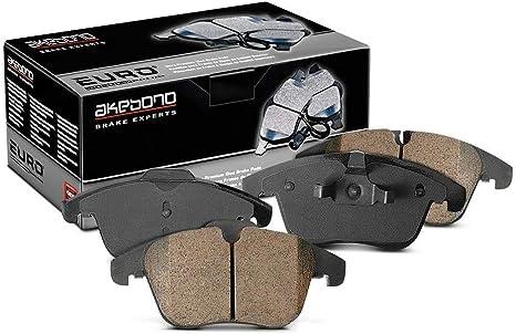 Akebono Brake Pad Sets 2-Wheel Set Rear Driver /& Passenger Side New EUR1042A