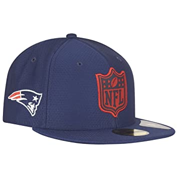 9c254cf6feee67 New Era New England Patriots League Logo 59FIFTY Fitted NFL Cap ...