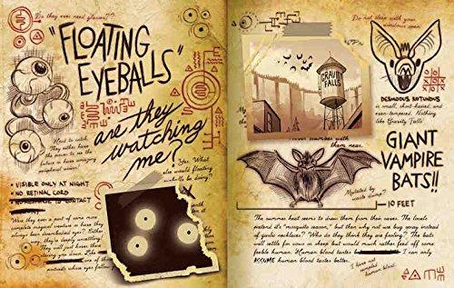 Gravity Falls: Journal 3 by Disney Press (Image #4)