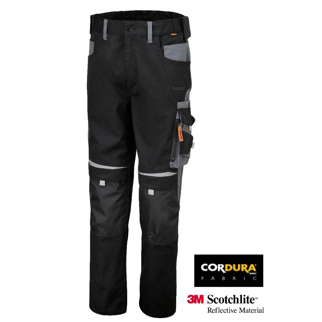 Beta 078200007-7820 Xxxxl-Pantalon De Trabajo Negro