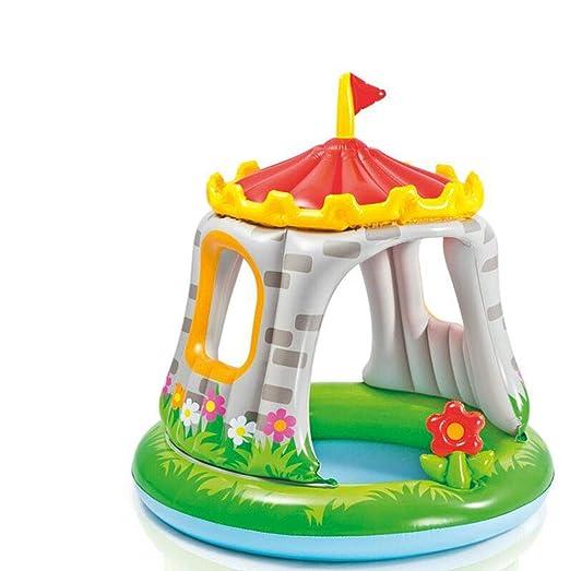 SYYCY - Piscina Hinchable para niños, 122 x 122 cm: Amazon.es: Jardín