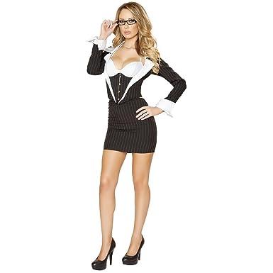 MutterMui Sexy Secretary Costume Adult Teacher Librarian Halloween Fancy Dress Small  sc 1 st  Amazon.com & Amazon.com: MutterMui Sexy Secretary Costume Adult Teacher Librarian ...