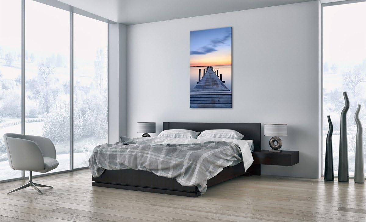prete a Suspendre 2508 D/écoration Motif Moderne 45x80cm Pret a accrocher PA45x80-2508 encadr/ée Tableaux pour la Mur Impression sur Toile Un /él/ément Image sur Toile