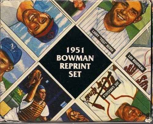 1951 Bowman Baseball Reprint Factory Set 324 Cards Complete Mantle Mays
