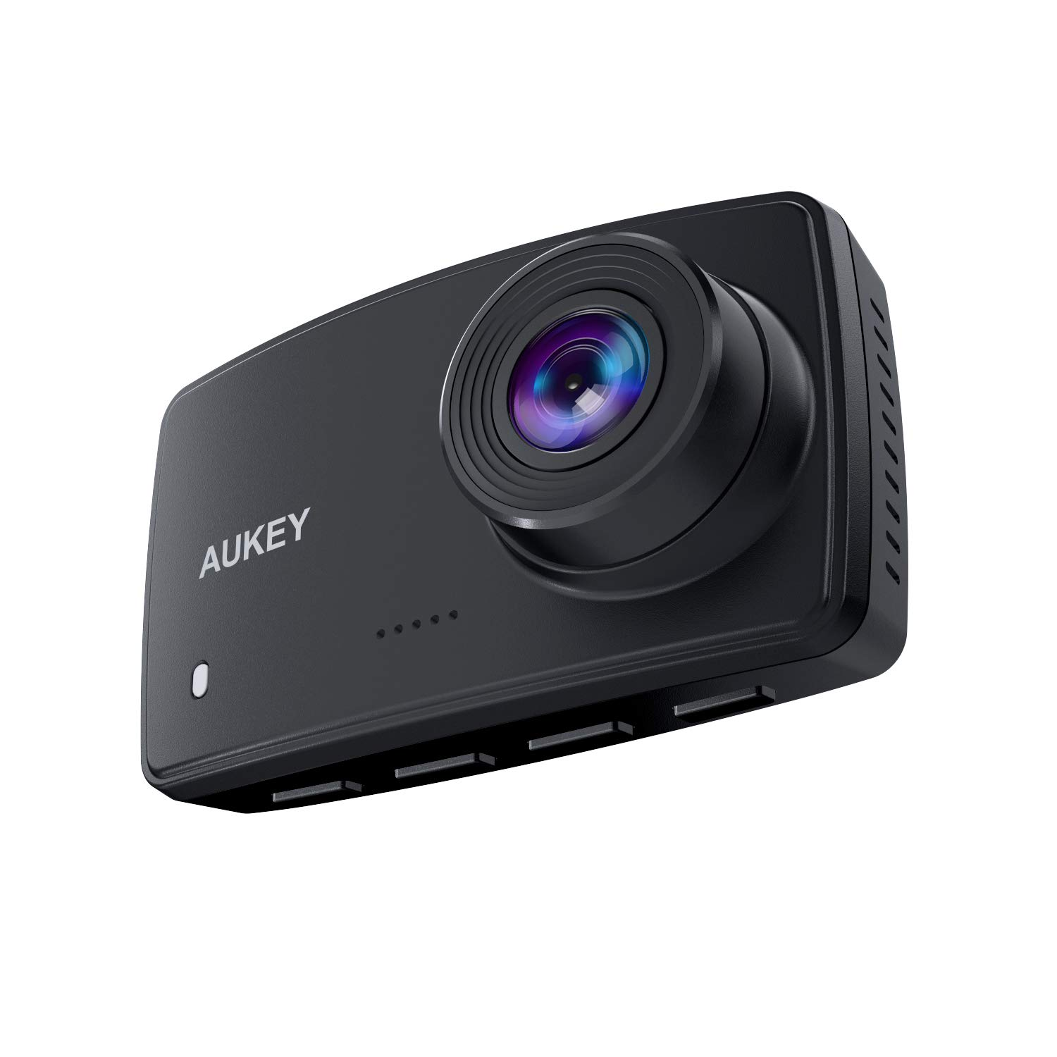 AUKEY Dash Cam FHD 1080P Car Camera 170 Degree Wide-Angle Dash Camera for Cars with Supercapacitor 2.7 Inch LCD Screen, WDR, G-Sensor, Loop Recording, Motion Detection, Support 128GB MAX Grey