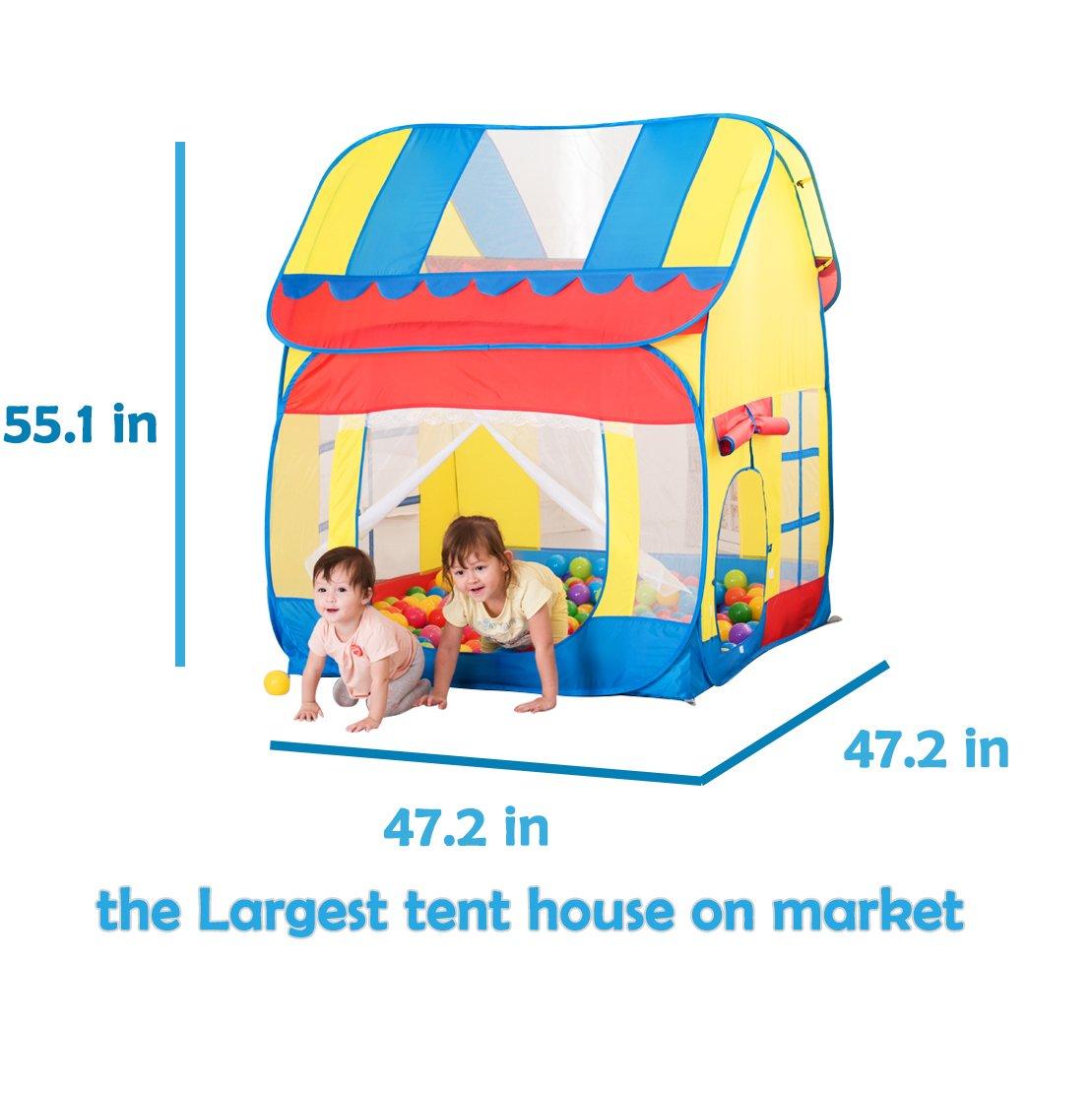 Kids Fun Play Tent Playhouse