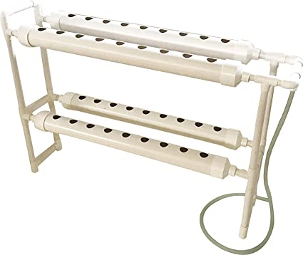 Vertical Type Hydroponic 36 Plant Sites Grow Kit with Pump Baskets Grow System
