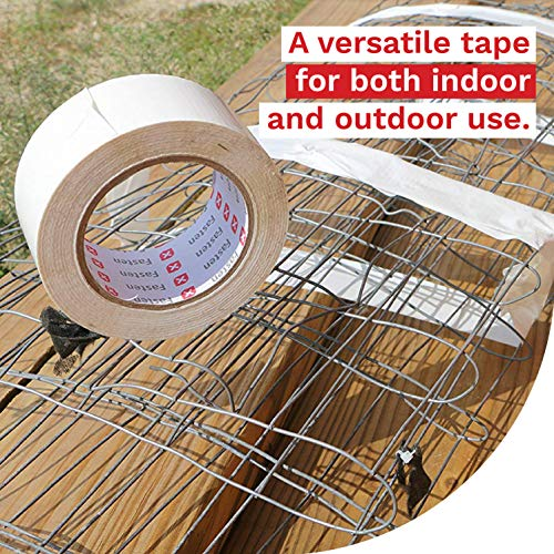 XFasten Duct Tape White, 2 Inches x 50 Yards, Yellowing Resistant and Conformable by XFasten (Image #2)