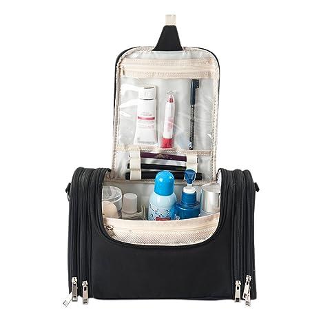 iShine Toiletry Bag   Makeup Organizer   Cosmetic Bag   Portable Travel Kit  Organizer   Household 88351ef41ed97