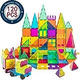 cossy Kids Magnet Toys Magnet Building Tiles, 120 Pcs 3D Magnetic Building Blocks Set, Educational Toys for Kids Children Larger Image