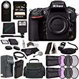 Nikon D810 DSLR Camera (Body Only) + Rechargable Li-Ion Battery + Home and Car External Charger + Sony 128GB SDXC Card + HDMI Cable + Remote + Memory Card Wallet + Memory Card Reader + Flash Bundle