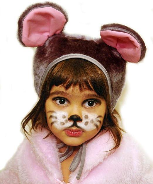 Carnaval Disfraz sombrero gorra ratón para niña niño niños días ...