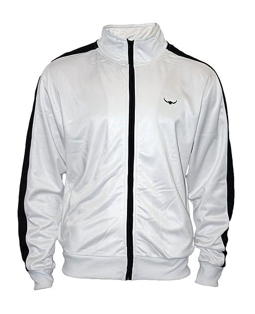Track Jacket - Hombres con estilo y calidad de estilo retro chaqueta de chándal por ROCK