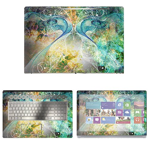 Decalrus - Protective Decal Skin Sticker for HP ENVY 17M AE011DX (17.3