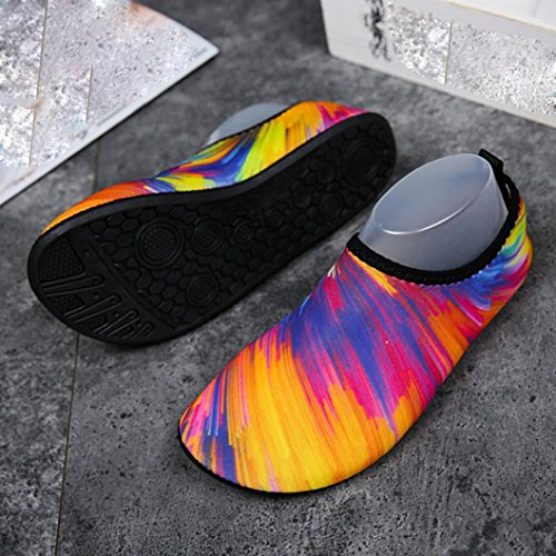 Unisex Mens Exercise Swimming Antiskid Outdoor Beach Aqua Dainzuy Womens Shoes Sports Socks Multicolor Surf Sandals gqCtPwd