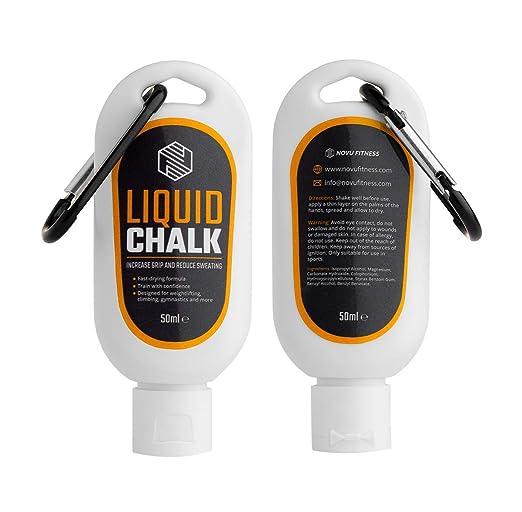 MAGNESIO LÍQUIDO | Liquid Chalk | Manos Libres de Sudor y Agarre Superior para Levantar Pesas, Escalar, Bouldering o Escalada, Gimnasia Rítmica, Baile ...