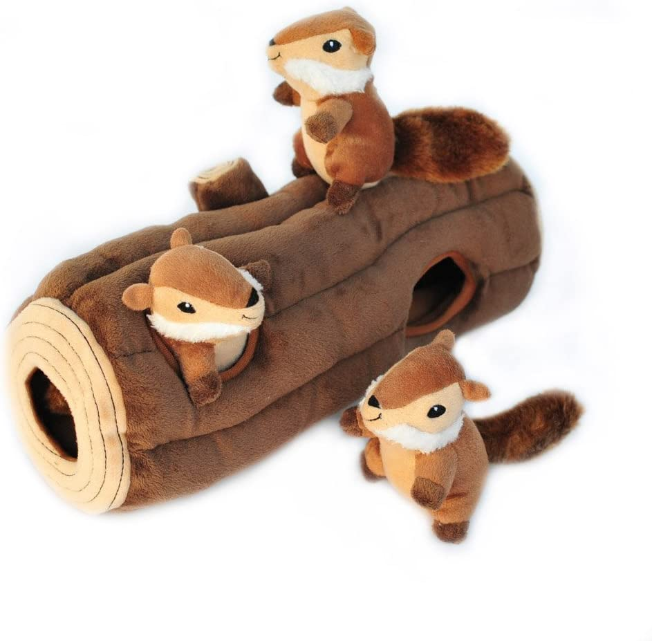 Woodland Friends Burrow dog toy