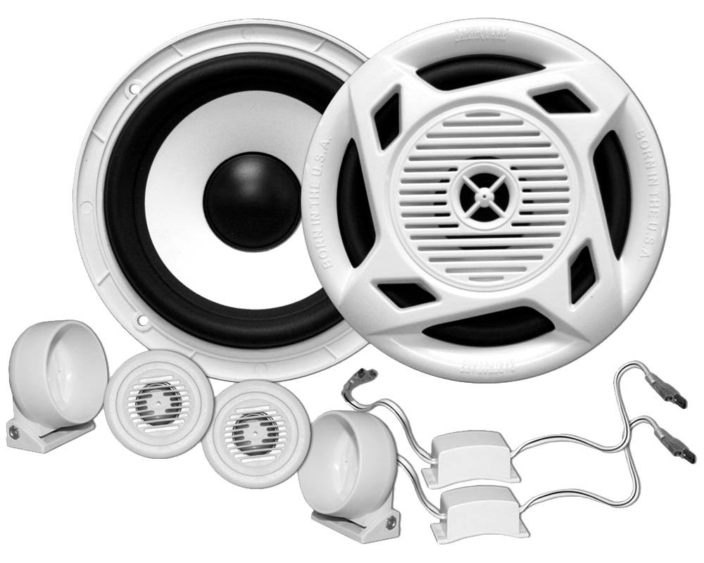 Earthquake Sound Marine MC5 5'' Matched Component Speaker Set