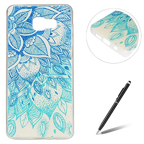 Slim Shockproof Case for Samsung Galaxy A3 (Blue) - 6