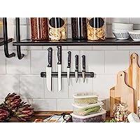 Barra Magnética Imã Suporte Facas Cozinha Churrasqueira 50cm