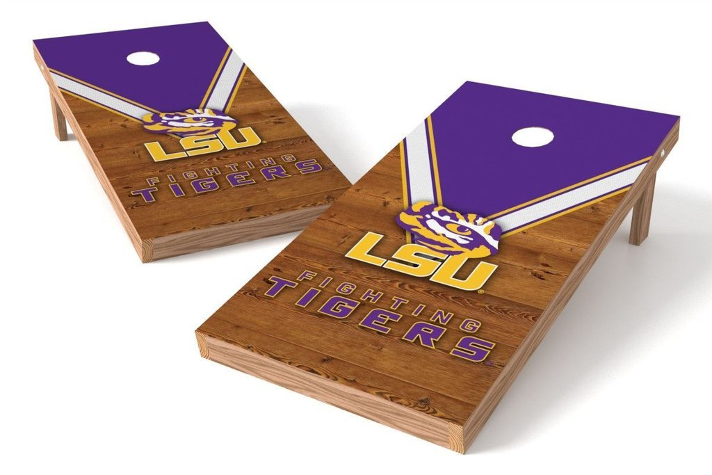 PROLINE NCAA College 2' x 4' LSU Tigers Cornhole Board Set - Uniform by PROLINE