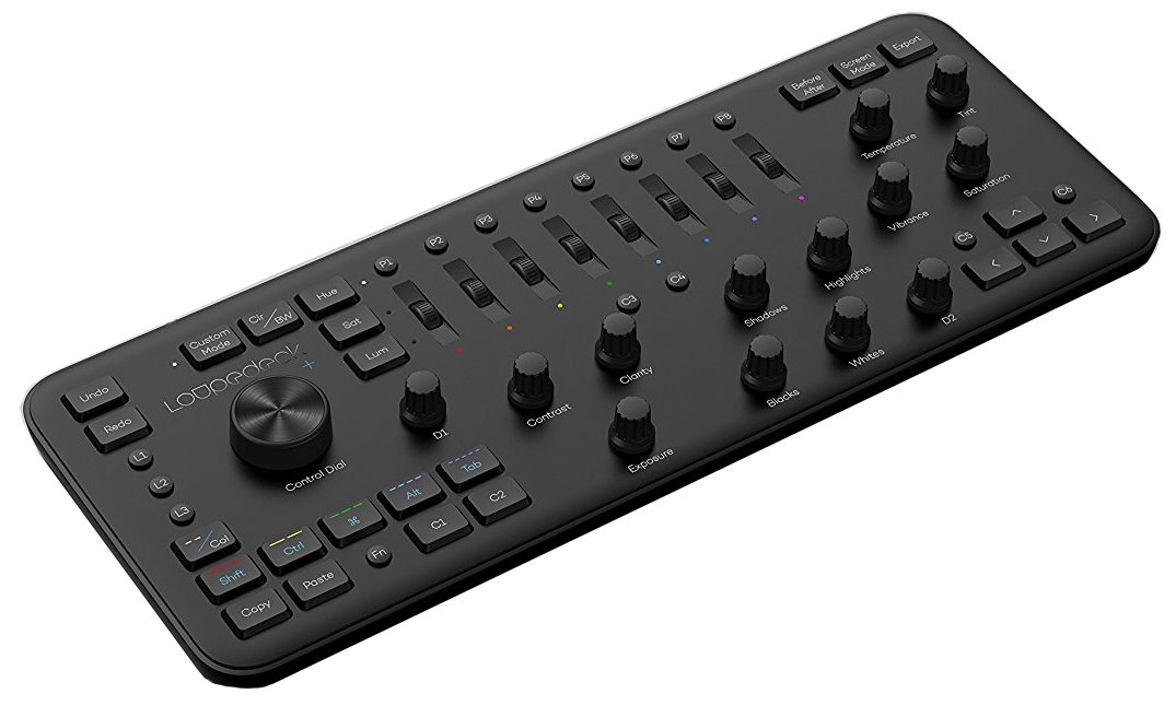 Loupedeck+ Plus Photo Editing Console and Lightroom Keyboard for Adobe Lightroom or Skylum Aurora HDR and More (New Model)