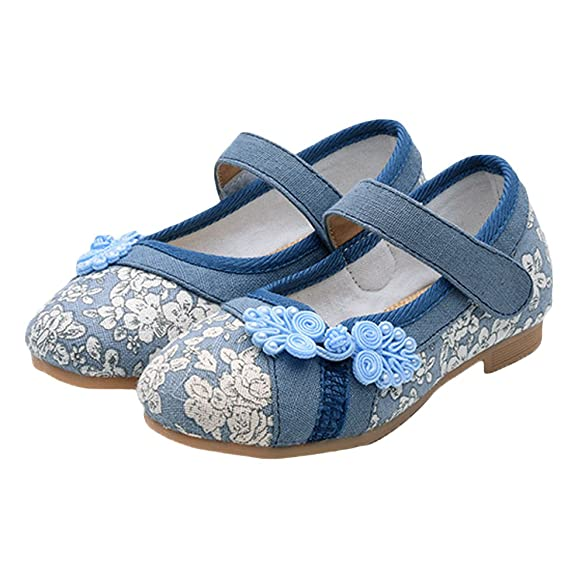Amazon.com | Kid Girls Shoes Mary Jane Ballerina Ballet Flat Dress ...