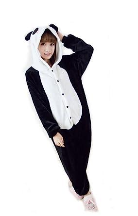 c4245816f5f9 FashionFits Unisex Panda Costume One Piece Adults Sleeping Wear Jumpsuit  Pajama L