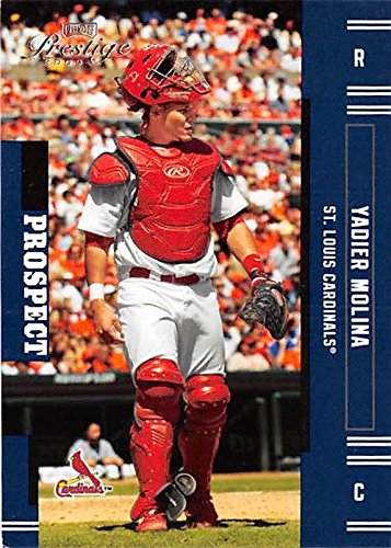Yadier Molina Baseball Card St Louis Cardinals Catcher 2005