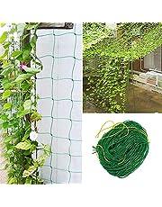 Trellis Netting for Climbing Plants - Heavy Duty Garden Trellis Netting for Cucumber, Vine, Fruits & Vegetables Tomato Plants Trellis Net, Climbing Vining Plants